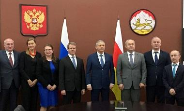 Вопросы социально-экономического сотрудничества Северной Осетии и Финляндии обсудили сегодня в республиканском Доме Правительства